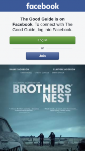 The Good Guide – Win One of Two Double Passes to See Brothers' Nest#yesplease
