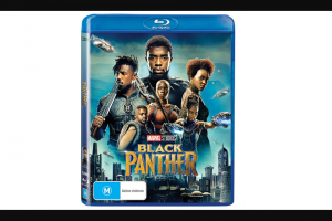 The Music – Win a Copy of Black Panther on Blu Ray