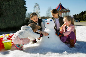 Win a Family Ticket to Snow Time In The Garden Valued at $102.00. (prize valued at $102)