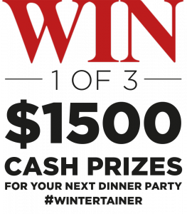 Pernod Ricard Winemakers – Wintertainers Digital 2018 – Win a major prize of a $1,500 Eftpos Cash gift card OR other instant prizes
