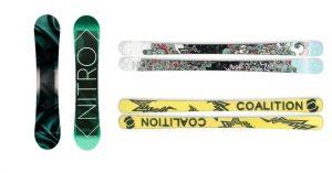 Snows Best – #showusdagirls – Win 1 of 2 prizes of Coalition Skis OR Nitro Snowboard