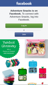 Adventure Snacks – Win – yumbox Panino Or Original & Minisnack