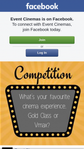 Event Cinemas Pacific Fair – Win $50 Gift Card Must Collect