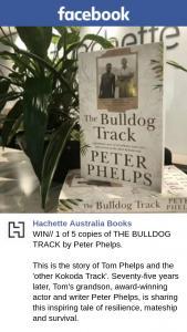 Hachette Australia – Win One of Five Copies of The Bulldog Track