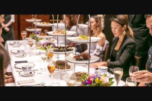 High Tea Society – Win High Tea & Accomodation at Intercontinental The Rialto