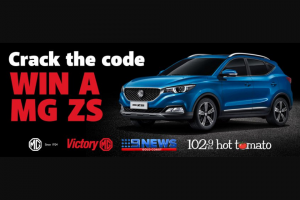 102.9 Hot Tomato – Win a Brand-New Mg Zs Worth $25490 Thanks to Victory Mg With Nine Gold Coast News and 1029 Hot Tomato (prize valued at $25,490)