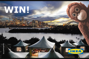 Ikea – Will Open 900am Thursday 26 July 2018 and (prize valued at $1,000)