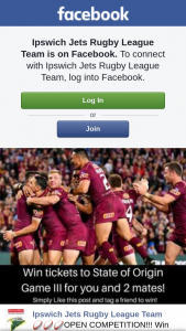 Ipswich Jets Rugby League Team – Tickets to State of Origin Game 3 at Suncorp Stadium this Wednesday Night