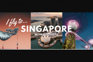 Juice Media – Win a Return Trip for Two to Singapore From Your Nearest Capital City Including 3 Nights Hotel Accomodation Plus $500 Spending Money