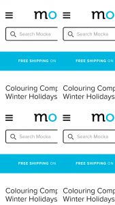 Mocka Australia – Win a $100 Mocka Voucher With Our Winter Holiday Colouring In Competition