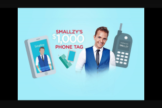 Nova FM Smallzy's $1000 Phone tag – Win 1 of 10 $500 Ticketek Vouchers to Your Next Gig