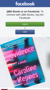 QBD Books – 5 Copies of Caroline Kepnes ' New Novel 'providence'