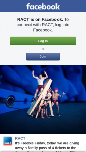 RACT – a Family Pass of 4 Tickets to The Circus Oz's Production of Model Citizens