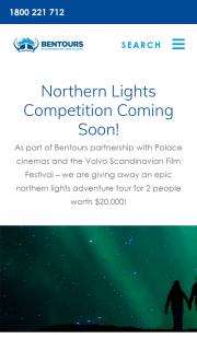 Scandinavian Film Festival-Ben Tours – Win a Trip for 2 to The Northern Lights (prize valued at $20,000)