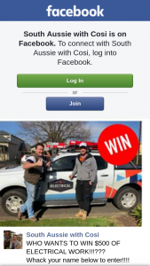 South Aussie With Cosi – Win $500 of Electrical Work?? (prize valued at $500)
