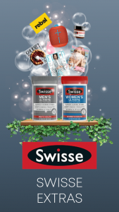 Swisse Gift with Purchase – Various Retail Outlets buy any ultivate Swisse range – Win a Prize (prize valued at $260,000)