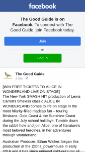 The Good Guide – Win One of Three Double Passes for Tuesday 10 July at 7pm
