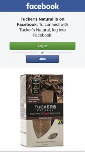 Tucker's Naturals – Win a Carton ( 6 Packs In a Carton).