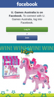 "U Games Australia – Win 1 of 3 Flying Glitter Unicorn Kits Tell Us ""what Type of Unicorn You Would Like to See and Why"". (prize valued at $19.95)"