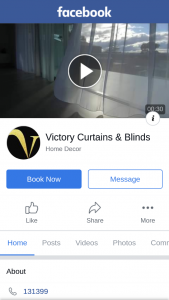 Victory Curtains and Blinds – Competition (prize valued at $5,680)