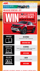 Win a Hsv Sportscat (prize valued at $76,429.3)