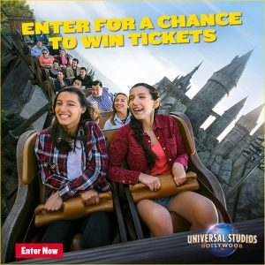 7travel – Win a trip for 4 to Universal Studios Hollywood valued at $7,352