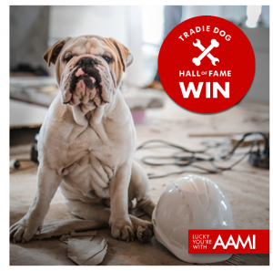 AAMI – Tradie Work Mates – Win 1 of 5 prize packages valued at $160 each