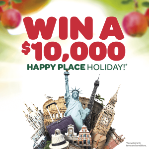 Batlow Fruit Company – Live Appley with Batlow – Win a $10,000 Travel Voucher