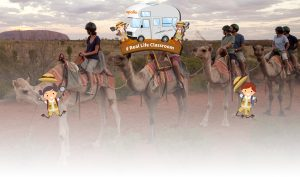 Caravan Industry Association of Australia's – Real Life Classroom – Win 1 of 2 major prizes including a trip for up to 4 people to Alice Springs plus more