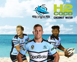 H2coco – Win an exclusive gameday experience for 2 with Cronulla Sharks + $300 to spend at H2coconut.com
