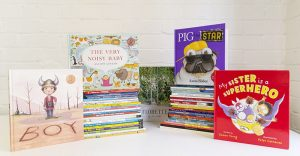Kinderling Kids Radio – Win a book prize pack for you (7 books) and for your chosen playgroup/childcare centre (52 books)