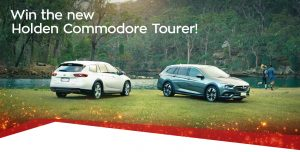 Network Ten – Survivor Holden Commodore Calais V Tourer – Win a 2018 Holden Commodore Calais V Tourer in Summit White (auto) valued at $47,990