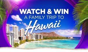 Network Ten – Watch and Win with Pointless – Win a Family Trip to Hawaii