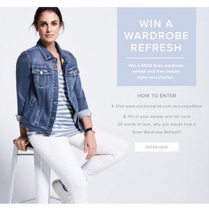 Suzannegrae – Win a $500 Grae wardrobe