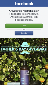 ArtNaturals Australia – Win Amazing Mens Pack for Fathers Day