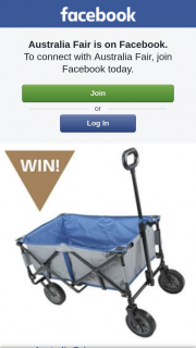 Australia Fair Shopping Centre – Win a Foldable Beach Trolley