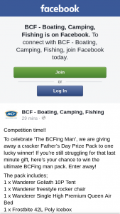 BFC Australia – Win The Ultimate Bcfing Man Pack