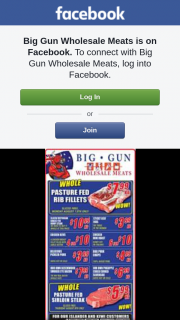 Big Gun Wholesale Meats – Win One of 2 $100 Vouchers.