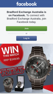 Bradford Exchange – Win this Black Hawk Watch