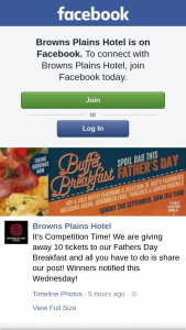 Browns Plains Hotel – 10 Tickets to Our Fathers Day Breakfast and All You Have to Do Is Share Our Post