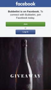 Bubbelini – a Bottle of Our Premium Boutique Sparkling Wine @bubbelini
