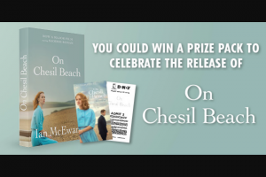 Dendy cinemas – Win a on Chesil Beach Prize Pack