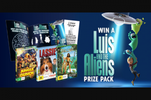 Dendy – Win One of Five Luis & The Aliens Packs