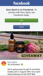 Emu Spirit – Win an Emu Spirit Natural Beauty Kit (prize valued at $88)