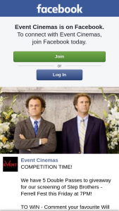 Event Cinemas Myer centre – Win a Double Pass to See Step Brothers