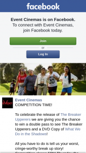 Event Cinemas Myer Centre – Win a Double Pass to See The Breaker Upperers and a DVD Copy of What We Do In The Shadows