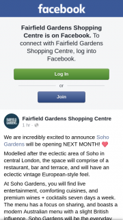 Fairfield Gardens Shopping Centre – Win One of Three $100 Soho Gardens Bar Tabs (prize valued at $300)