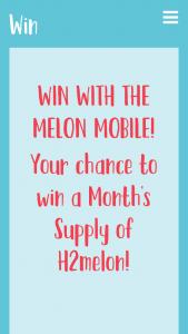 H2Melon – Win an a Month's Supply of H2melon
