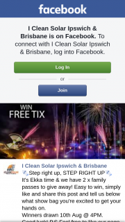 iclean solar Ipswich & Brisbane – Win One of Two EkkaFamily Passes (prize valued at $160)