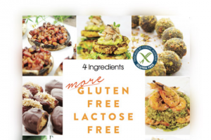4 Ingredients – Win 1 of 20 Signed Copies of 4 Ingredients More Gluten Free Lactose Free (prize valued at $500)
